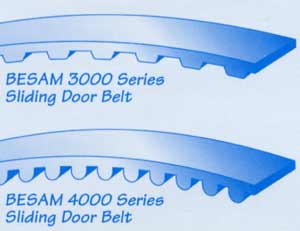 Replacement Sliding door belts for BESAM 3000 \u0026 4000 Series door systems (sold by the foot). BSDB-A (approx. 3/4\u201d wide) also fits STANLEY GYRO-TECH ...  sc 1 st  New England Entrances : besam door - pezcame.com